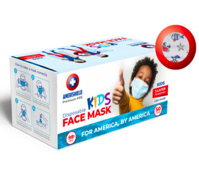 Amerishield Kids Face Mask