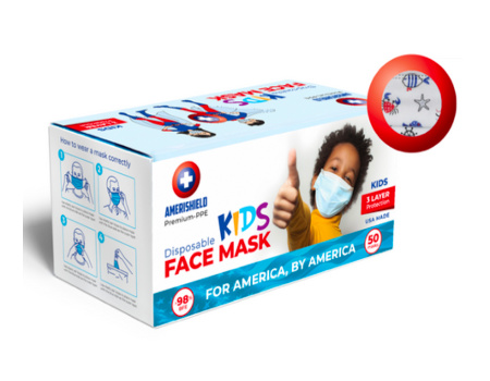Amerishield Kids Face Mask